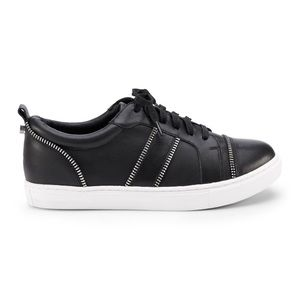 Authentic Botkier Black Leather Sneakers